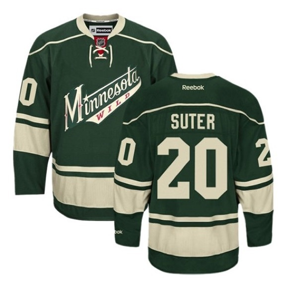 detailed pictures 12d3e 0977d NWT NHL Minnesota Wild Ryan Suter Jersey size xl NWT